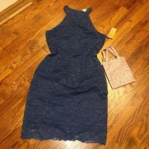 ⭐ Cremieux Dress, Navy 14